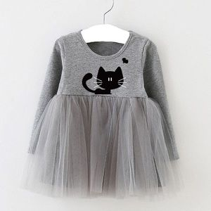 Other - 🆕 Baby Girls Cat Tutu Dress🌸